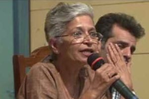 Gauri Lankesh-another dissenting voice silenced.