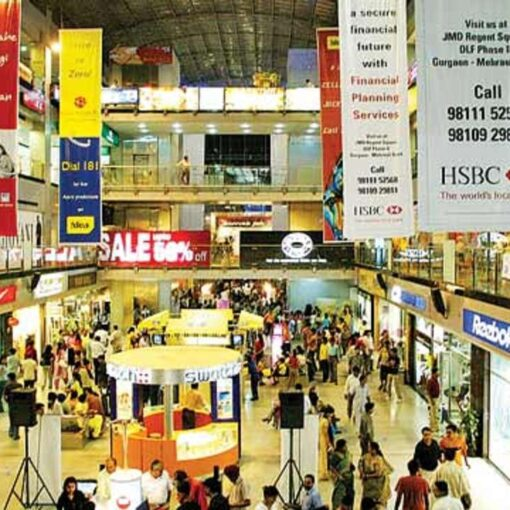 shopping mall in India